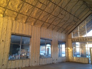 Insulation roof and wall