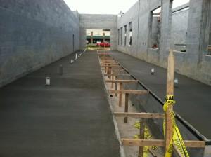 concrete poured in tunnel3
