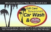 Savannah Car Wash Pooler Coupons